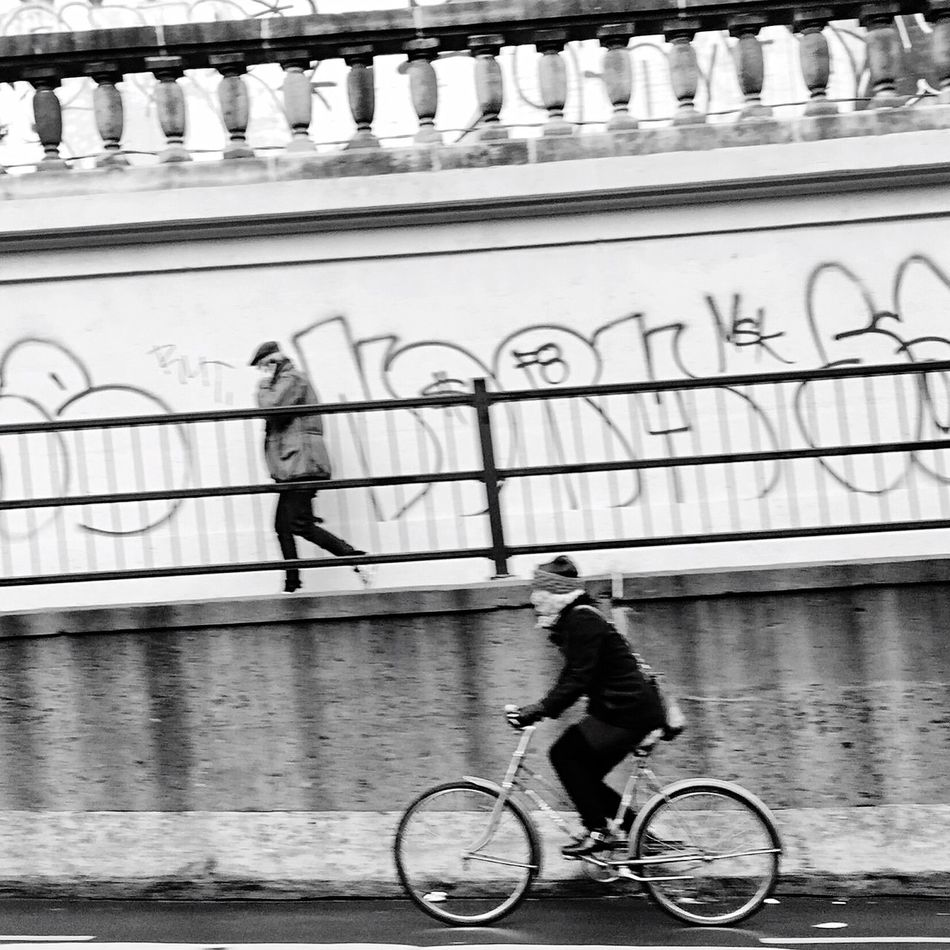 Life In Motion Streetphotography Blackandwhite Walking