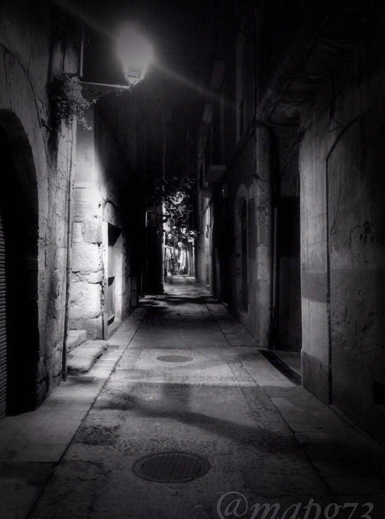 Blackandwhite Old Town Roman Tarraco