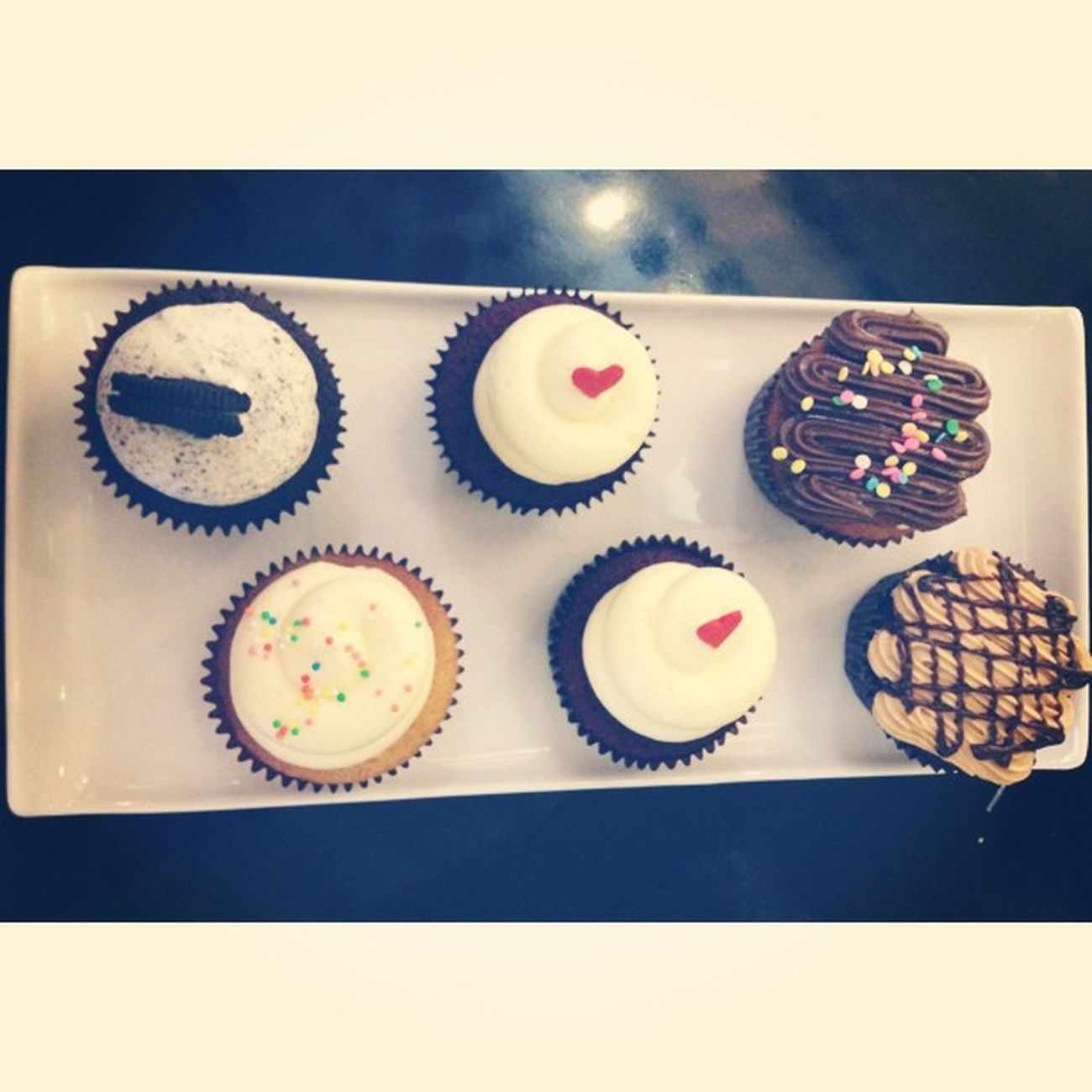 Squaready Twelvecupcakes Redvelvet Cupcakes Take a break, eat a cupcake.