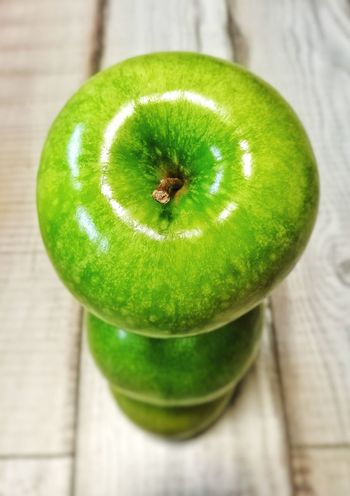EyeEmNewHere Apple Green Color Food And Drink Healthy Eating Freshness No People Studio Shot Indoors  Food Fruit Close-up Wood - Material Drink Dieting Day Ready-to-eat EyeEm Selects The Week On EyeEm Mix Yourself A Good Time