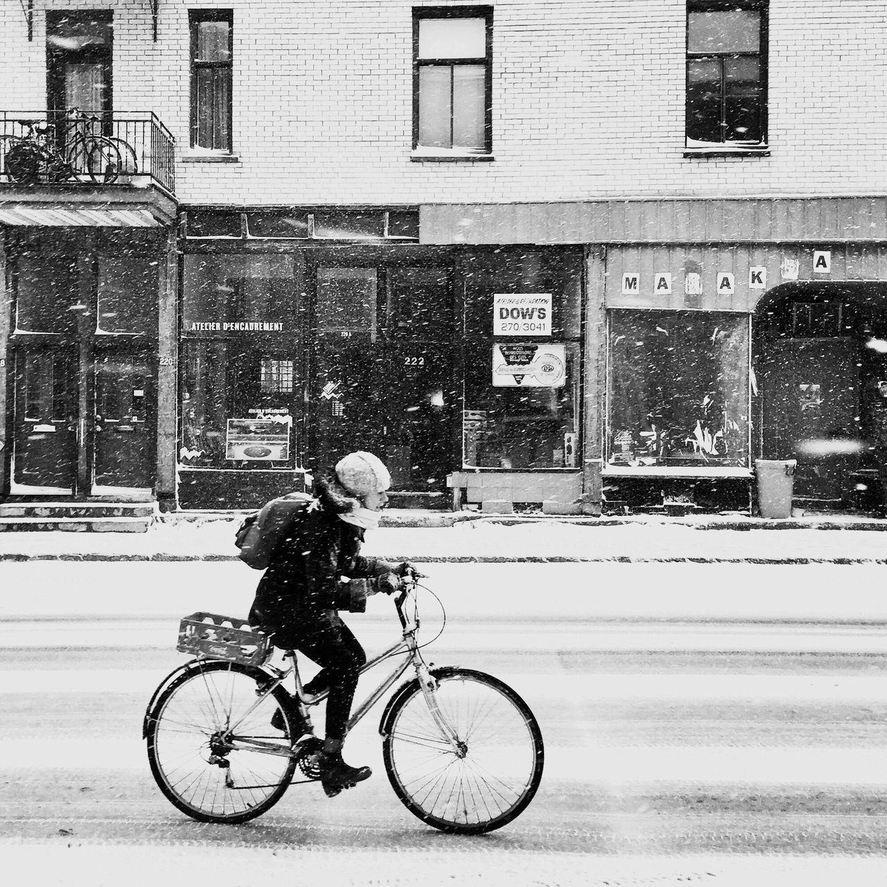 Ridee on the storm EyeEm Best Shots - Black + White Streetphoto_bw Blackandwhite Streetphotography Snow Winter AMPt Community