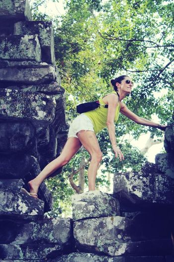 Tomb Raider...Angkor Watt Cambodia Enjoying Life