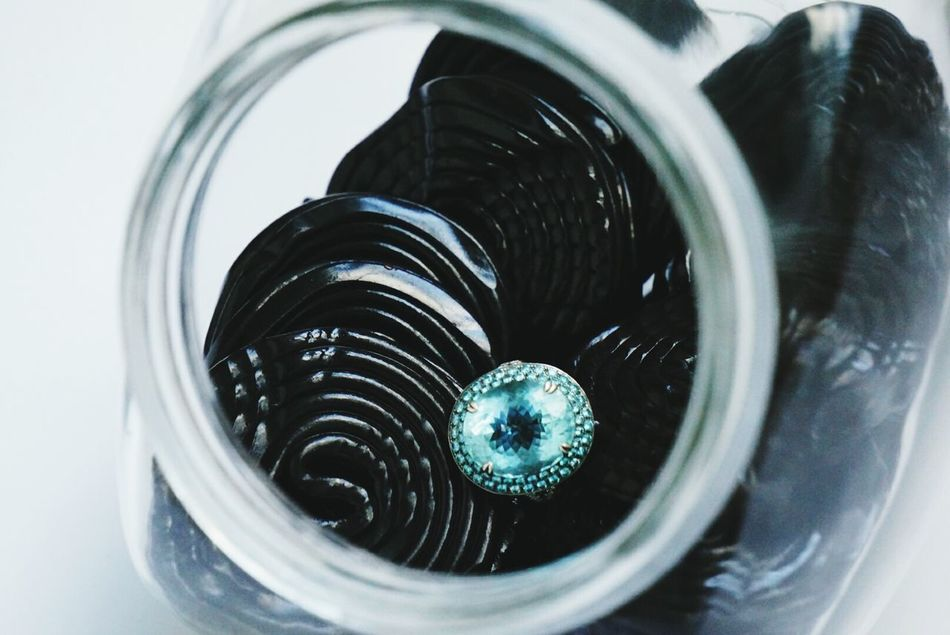 Beautiful stock photos of glass, Aquamarine, Black Color, Close-Up, Container