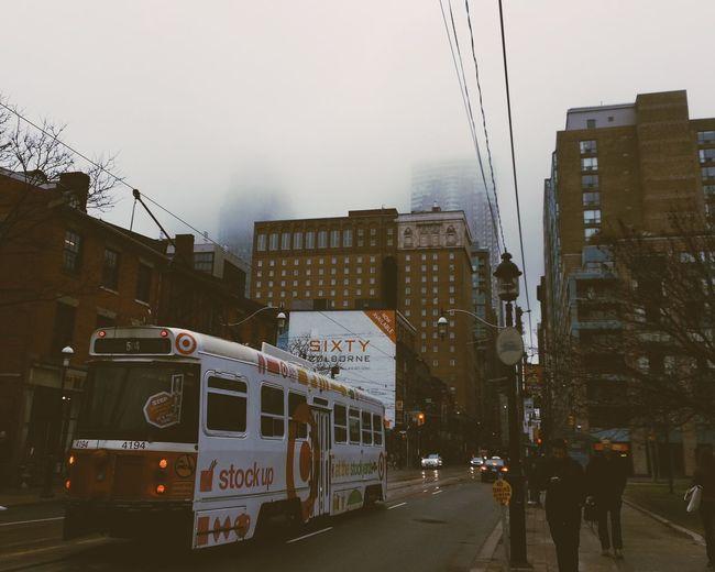 King Street Streetcar These Days Rainy Day I Miss Spring