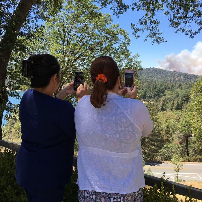 Pivotal Ideas Lake Arrowhead FireFighting  Photography