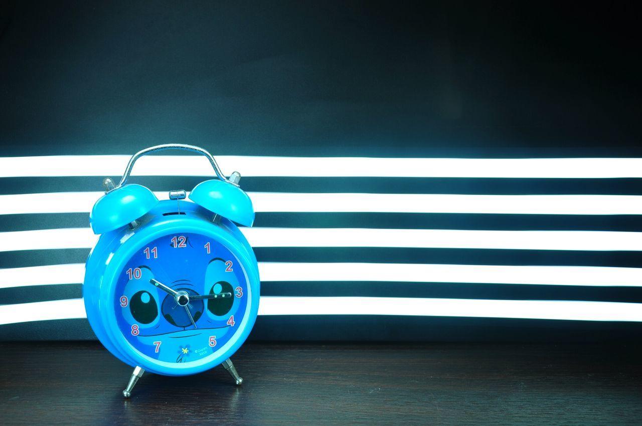 Alarm clock AlarmClock Long Exposure Lightpainting