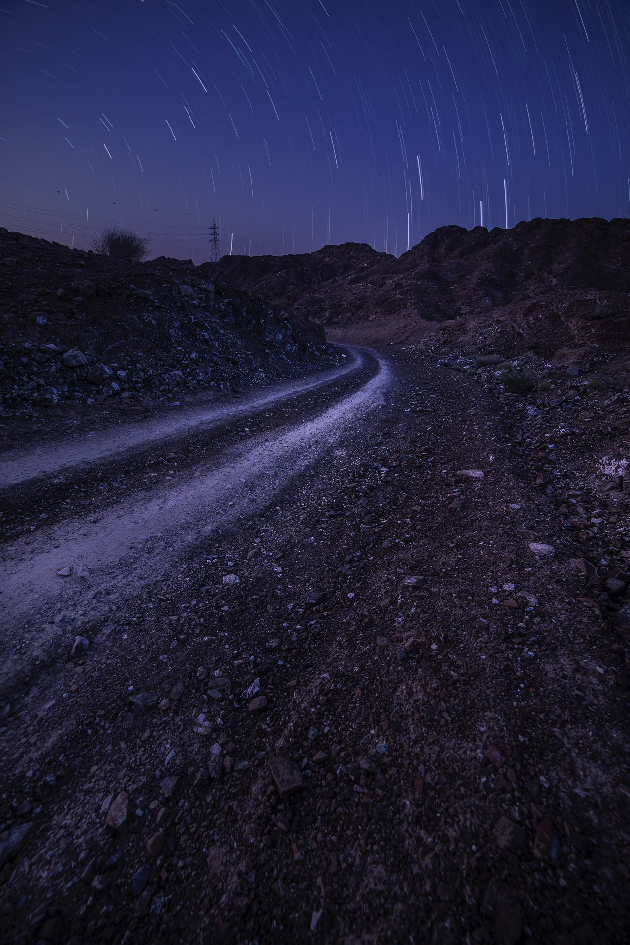 Star - Space Night Astronomy Long Exposure Space And Astronomy Star Field Constellation Space Star Trail Milky Way Astrology Sign Road Scenics Nature Beauty In Nature Galaxy Landscape Clear Sky Sky Illuminated