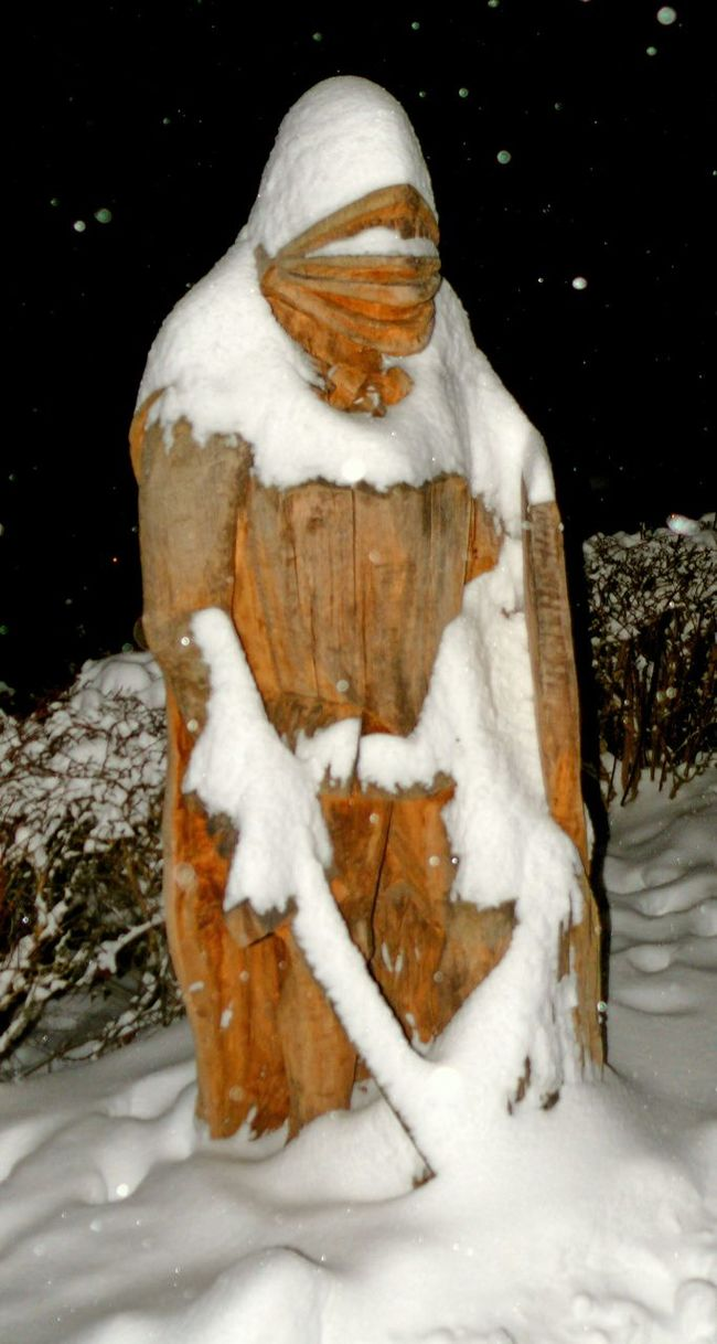My Winter Favorites Guardian Knight  Schlosskeller Herrenberg Germany Winter Snow Copyright@photoji'nic