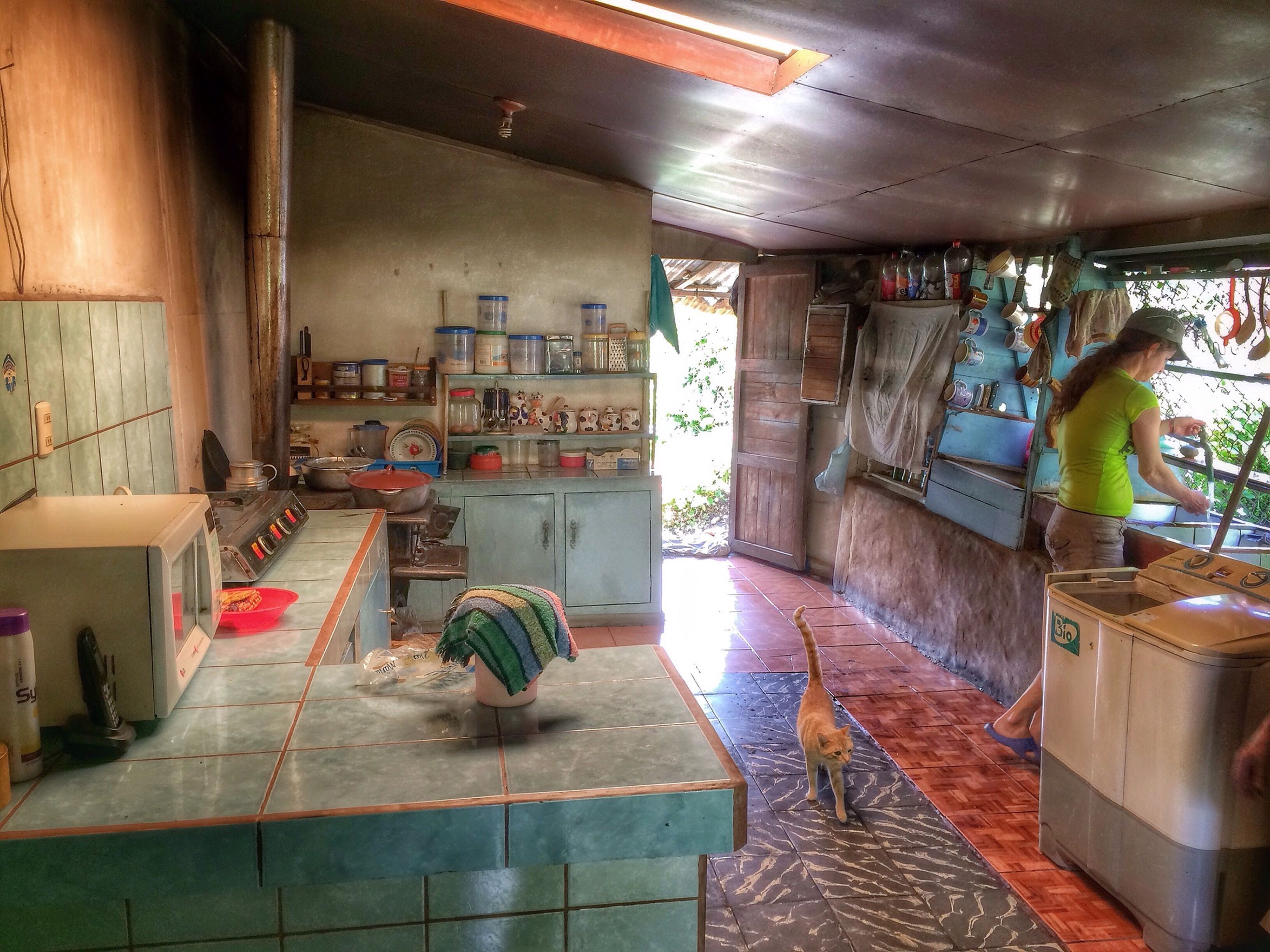 IPhoneography HDR typical Costa Rica Kitchen