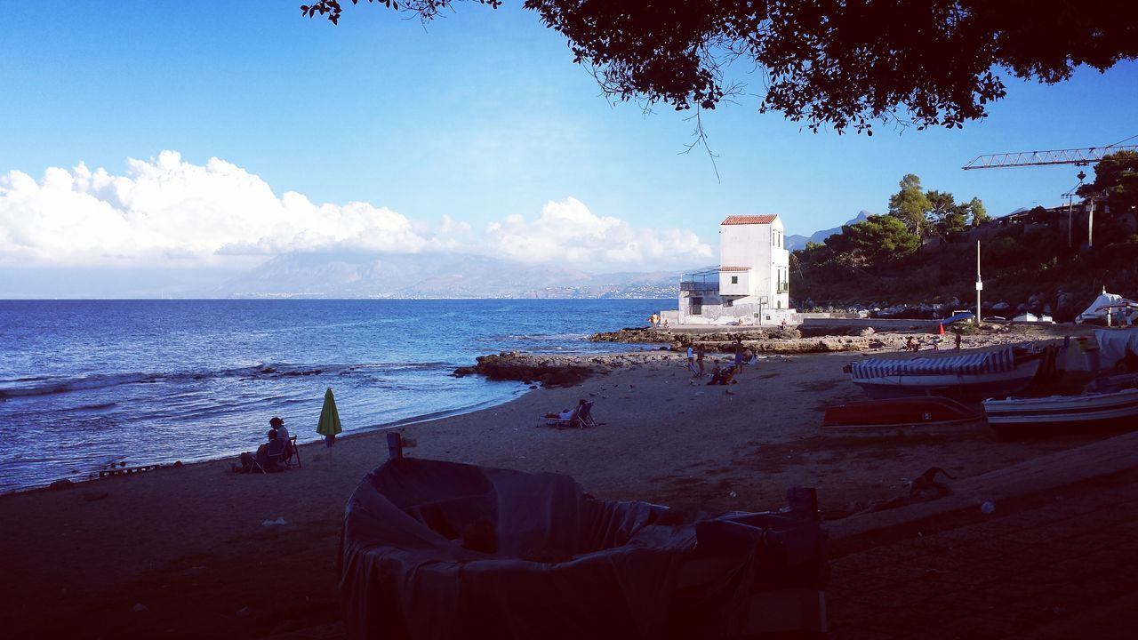 Sea Tramonto Bellissimo Sicily, Italy Beautiful Beach Calettabeach Santa Elia