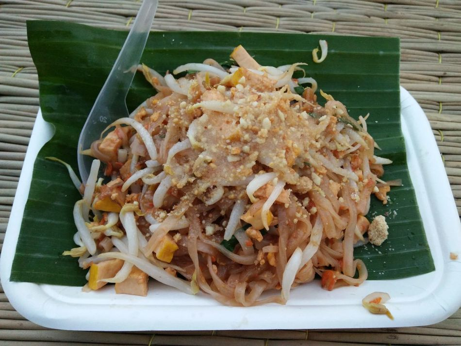 Food Food And Drink Freshness High Angle View Ready-to-eat No People Close-up Healthy Eating Day Outdoors Thai Food Thai Style Thaifood Thaifoods Food And Drink Indoors  Padthai Food Padthai Padthai Grassnoodle Padthaiwhitrivershrimp PadThaiGoongSod Padthaigong PadThaiLover Padtai