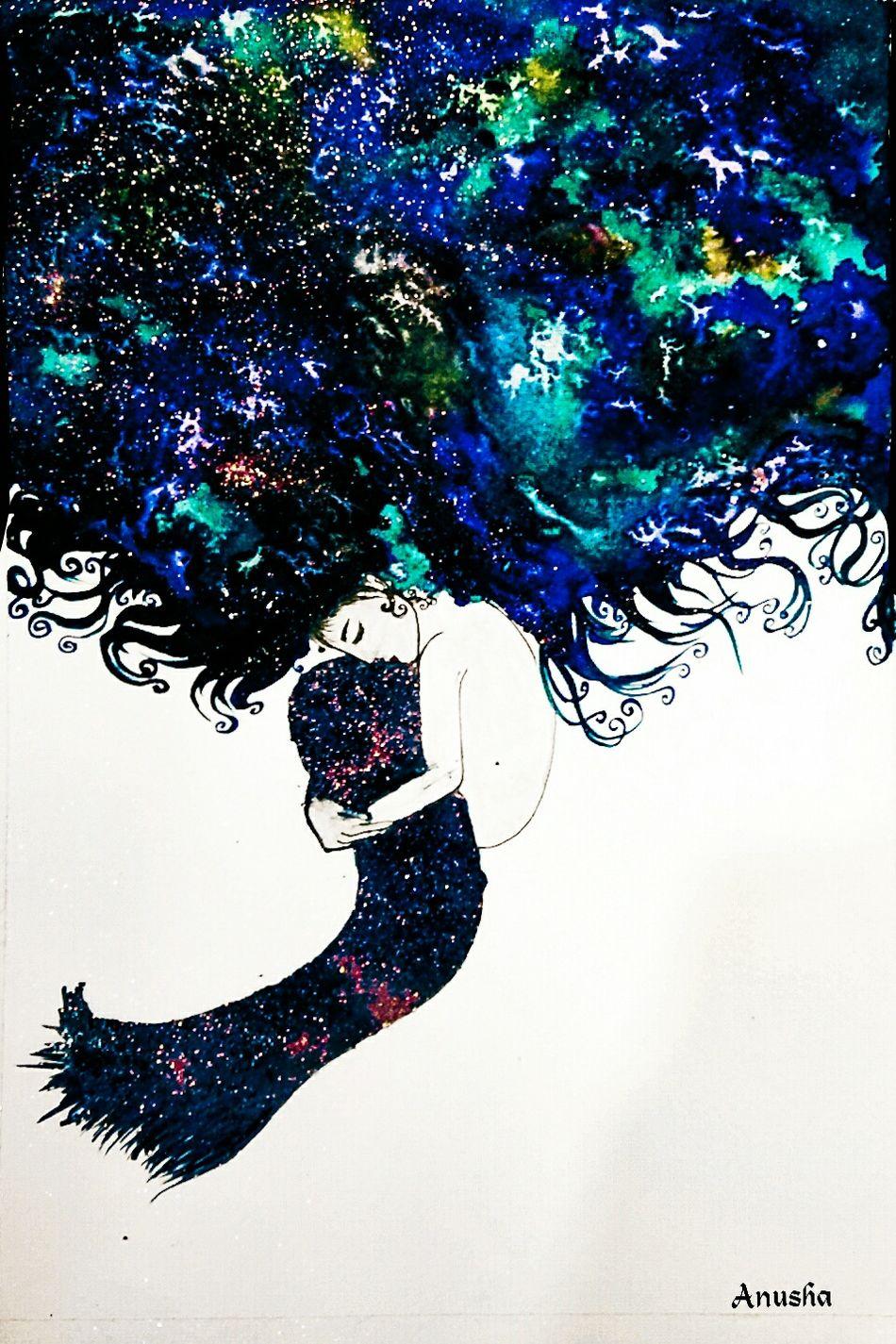 Watercolours Waterblog Creativity Creative Painting Watercolor Watercolorpainting Art Artworks Illustration Blue Colors
