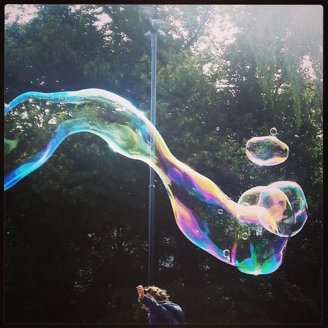 Sommer Såpebobler Bubbles Reach Fun Spikersuppa Oslo Oslobilder