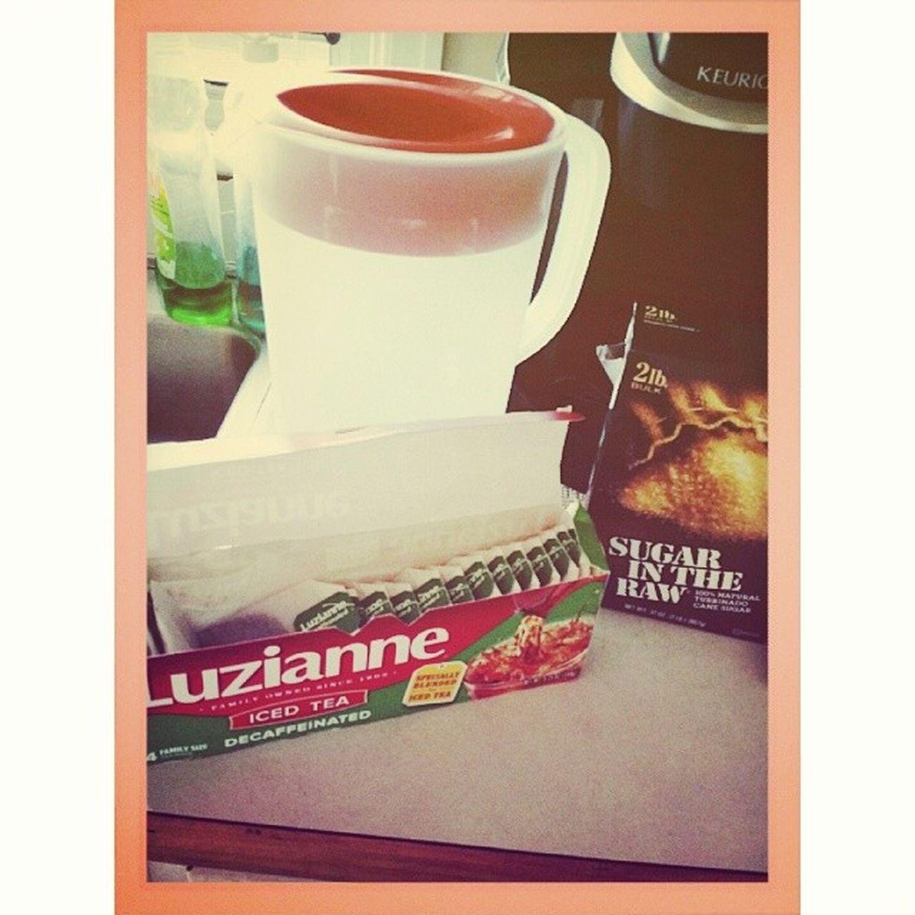 Sweet tea! Sugarintheraw Decaf