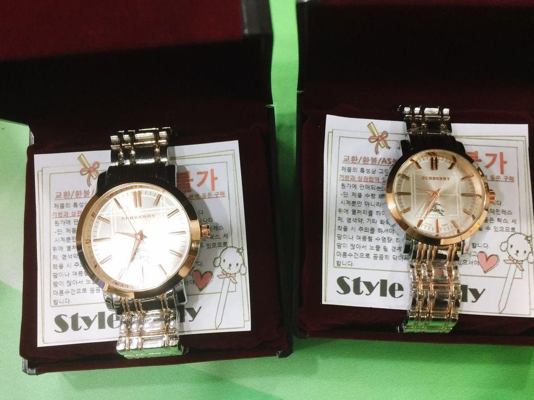 버버리 시계 커플