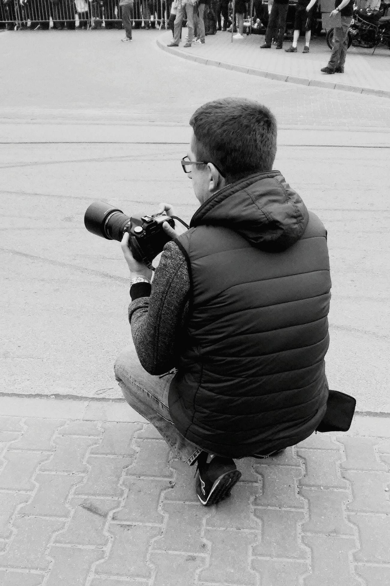 In Work Photographer Men