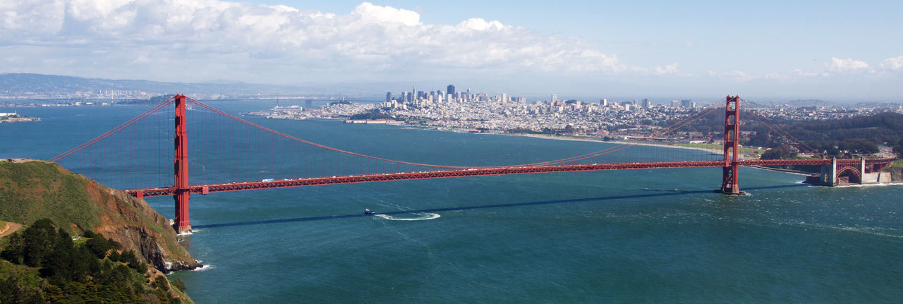 Golden Gate Bridge Bridge Ocean Landscape Transportation Architecture Cityscape City San Francisco California Travel Destinations EyeEmBestPics EyeEmBestEdits EyeEm Best Edits EyeEm Best Shots EyeEm Gallery Traveling Travel