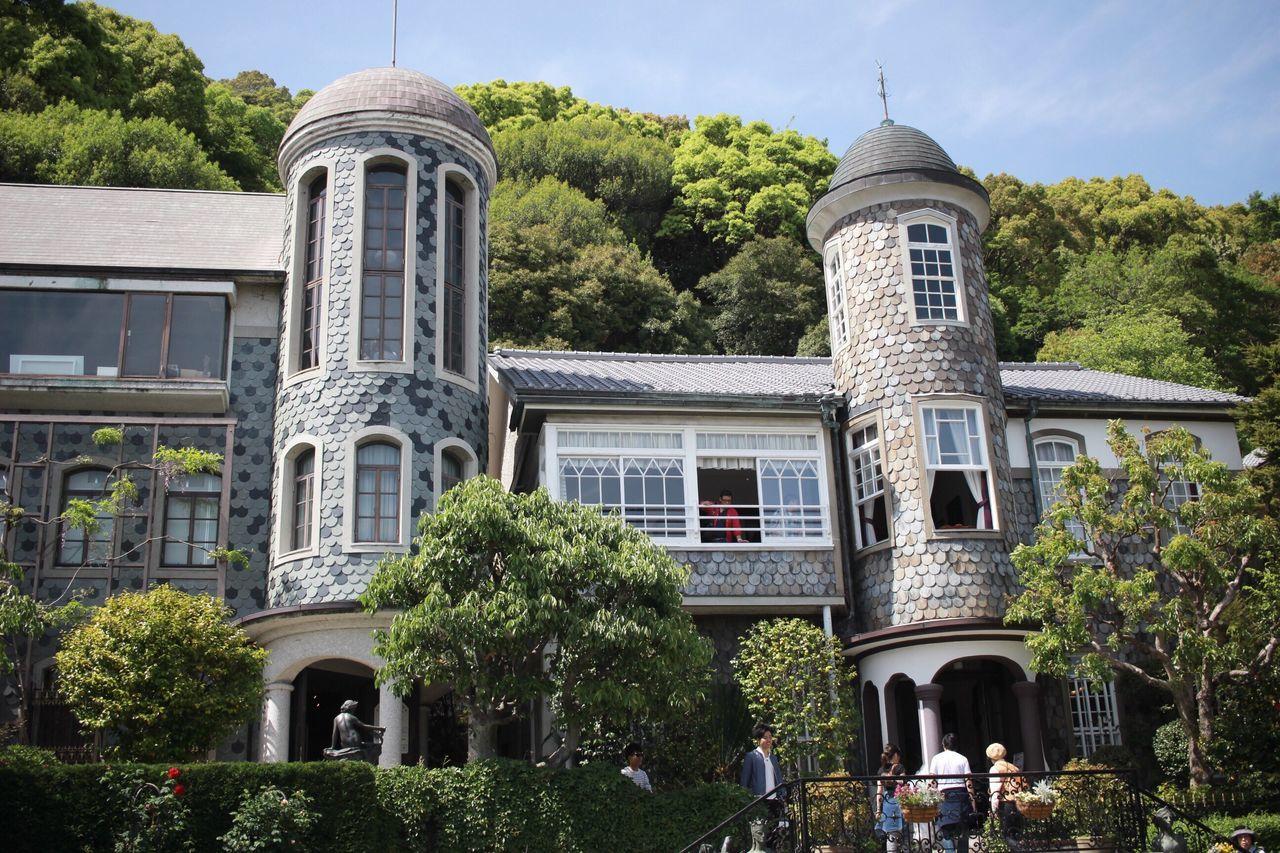 うろこの家@北野異人館街 Kobe-shi,Japan Architecture Canon X7 うろこの家 北野異人館街 ジブリっぽい