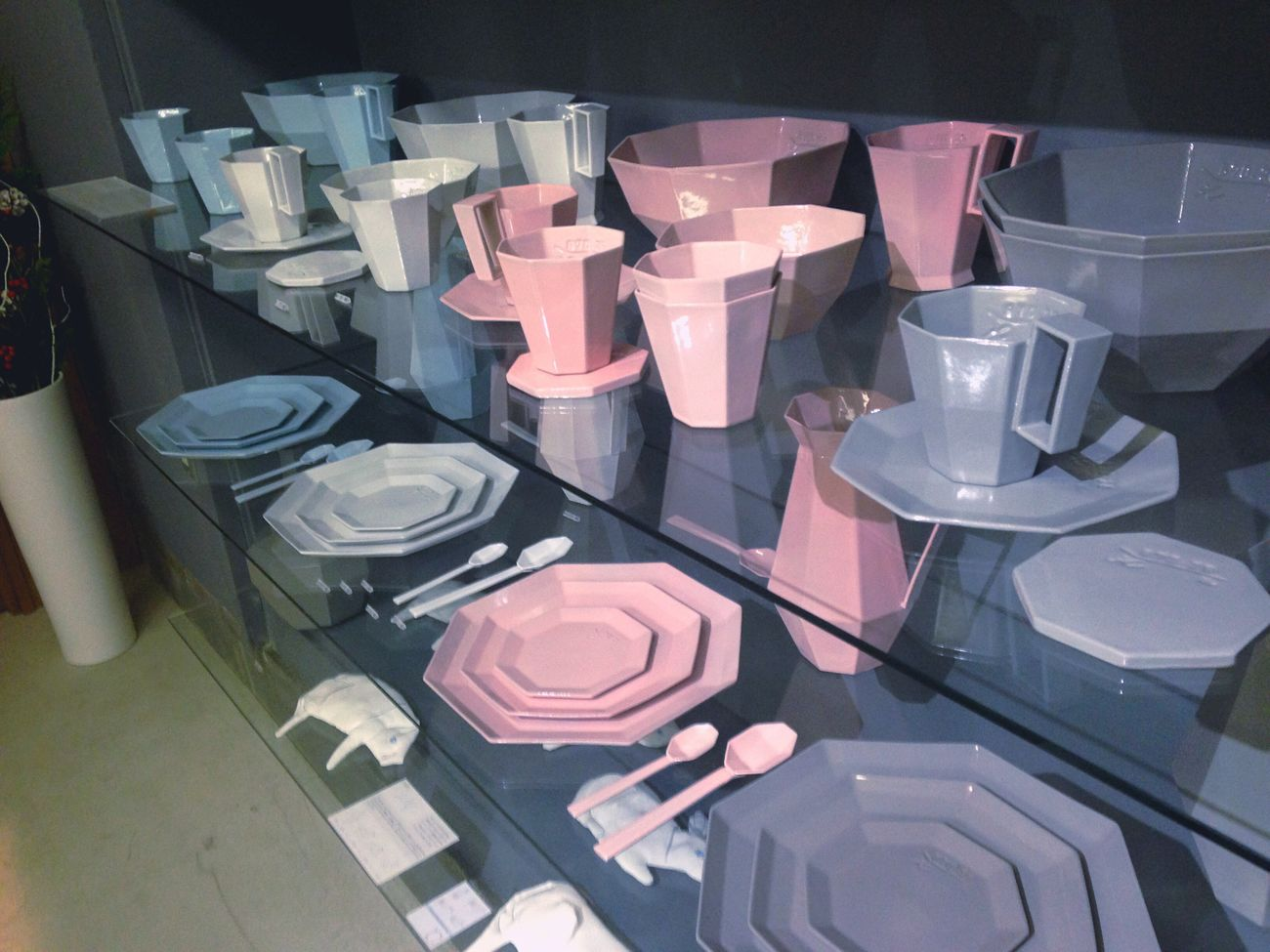 Millennial Pink Large Group Of Objects High Angle View No People Indoors  Day Kikof 信楽焼 Handmade 食器 滋賀 信楽 東京 六本木