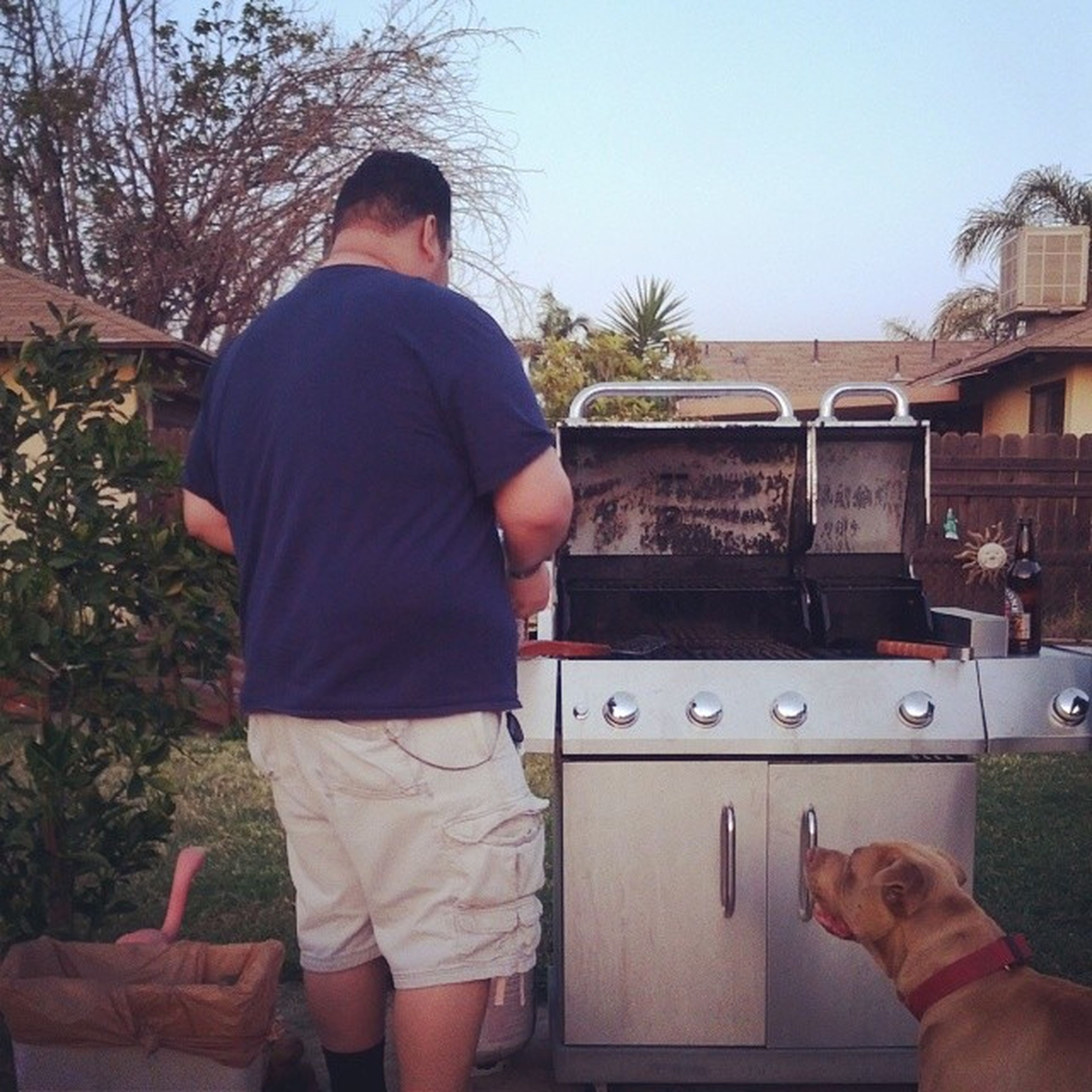 Words cannot describe how excited I am about @predzridez grilling us some of his amazing burgers! BBQ Grilling FuckEasterrules Omnomnoms