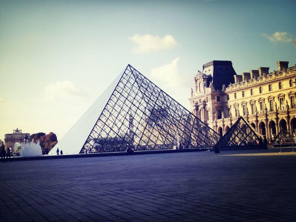 Louvre Pyramide Du Louvre Musée Du Louvre