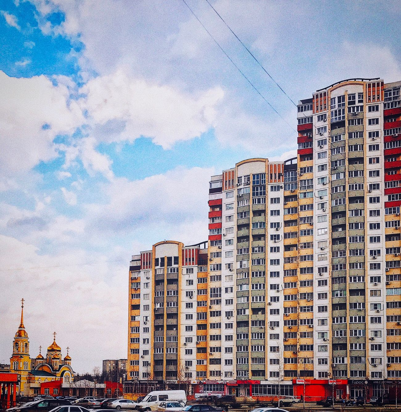 Building Exterior Architecture Built Structure City Sky Outdoors Residential Building Cloud - Sky Apartment No People City Life Day Skyscraper Cityscape Building Story Lipetsk липецк