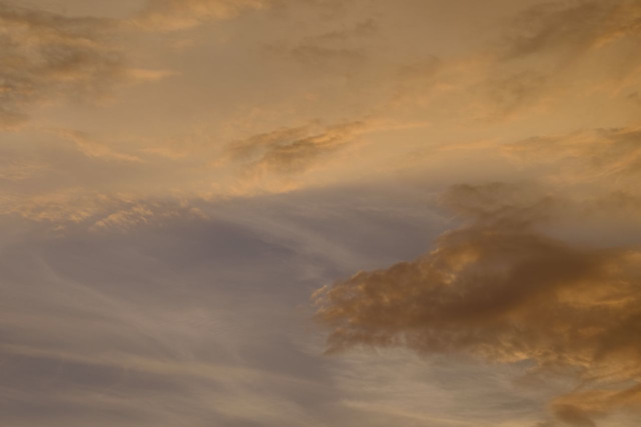Cloud - Sky Beauty In Nature Nature Tranquility Sky Scenics Tranquil Scene No People Low Angle View Sunset Backgrounds Full Frame Outdoors Sky Only Day