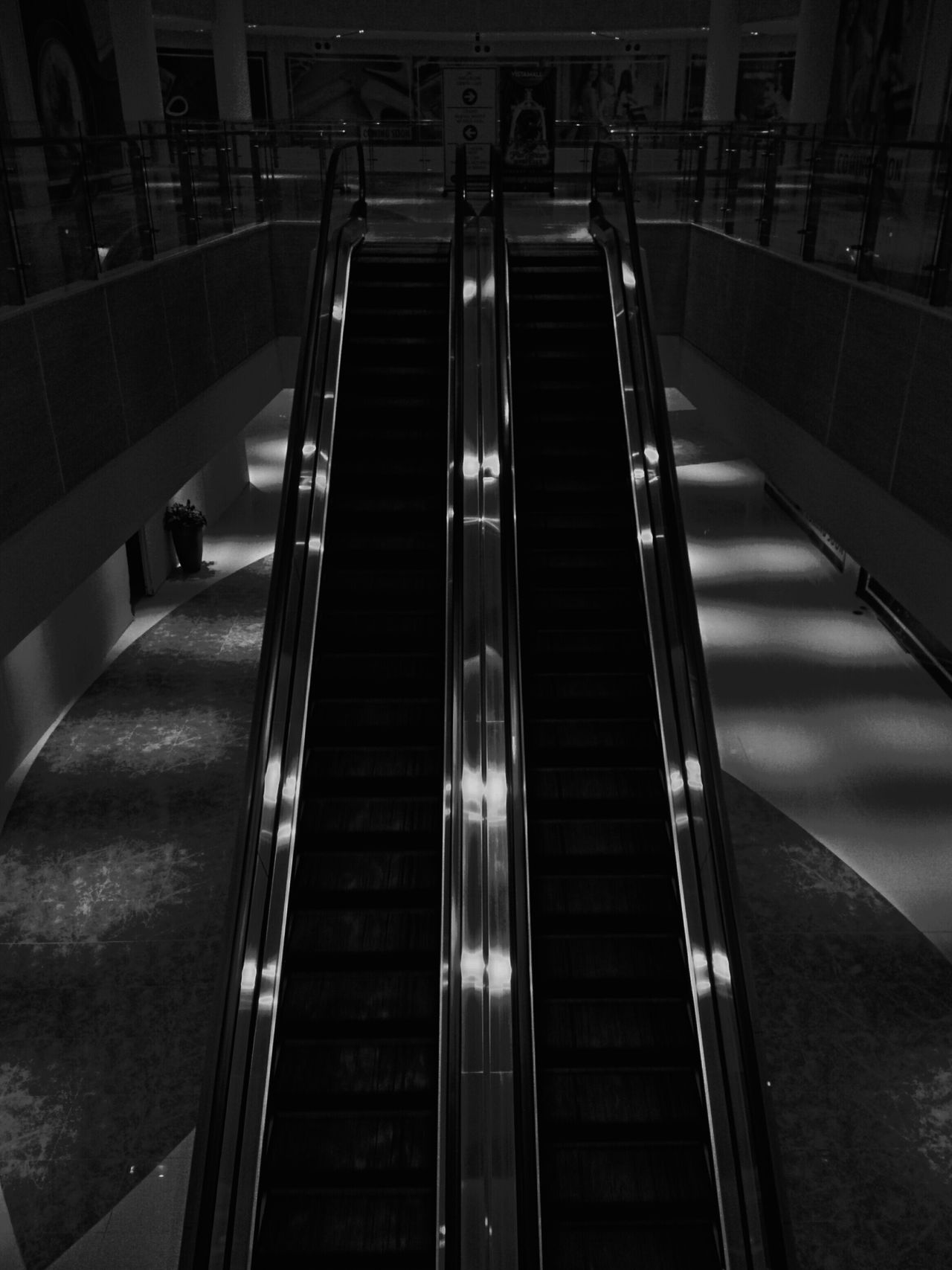 The Way Forward Steps No People Built Structure Architecture Illuminated Indoors  Staircase Night Black And White