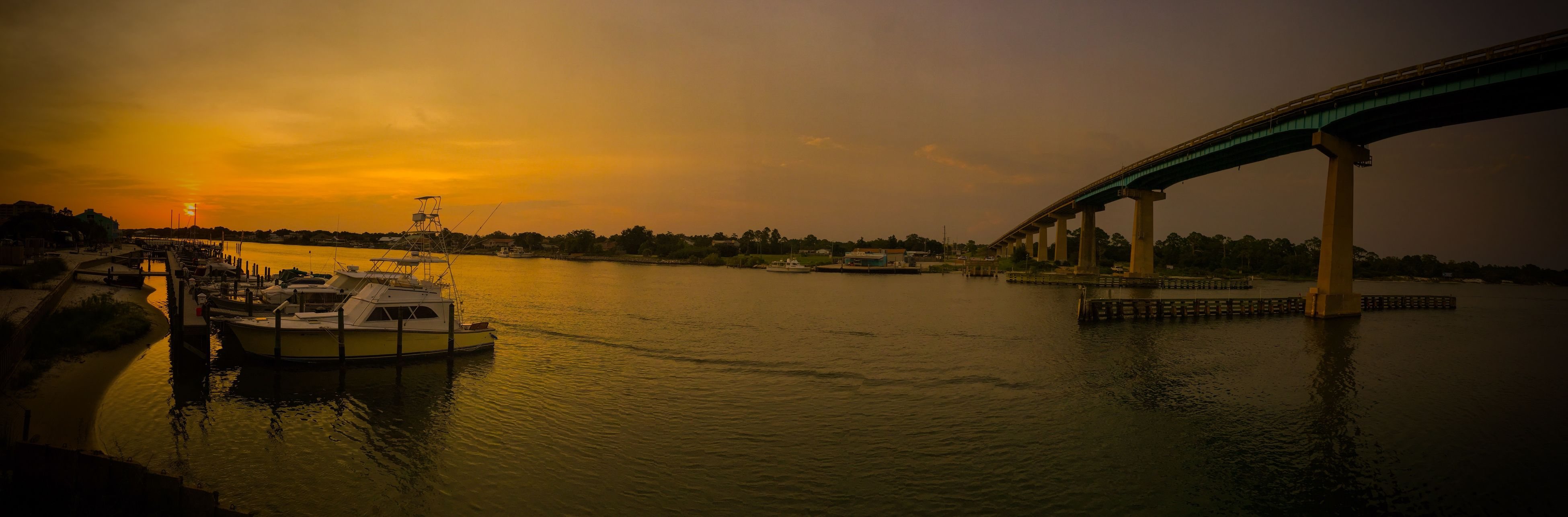 sunset, water, nautical vessel, transportation, boat, mode of transport, waterfront, sea, sky, moored, orange color, reflection, river, nature, silhouette, scenics, tranquility, built structure, beauty in nature, travel
