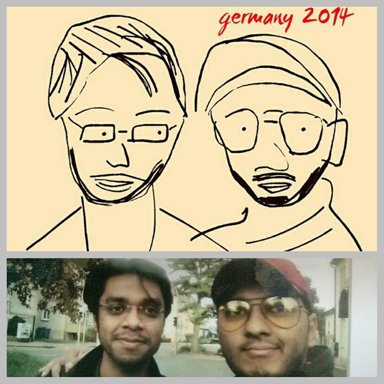 Sketches.. My best friend Sketch Drawings Germany People Best  Wearethebest Bestfriend Bff Dailylife Instamood Happiness Pondicherry Aviator Opium Goggles Friends Family