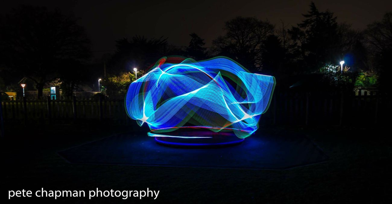 Long Exposure Light Trails Light Stick Light Painting Homemadelightstick