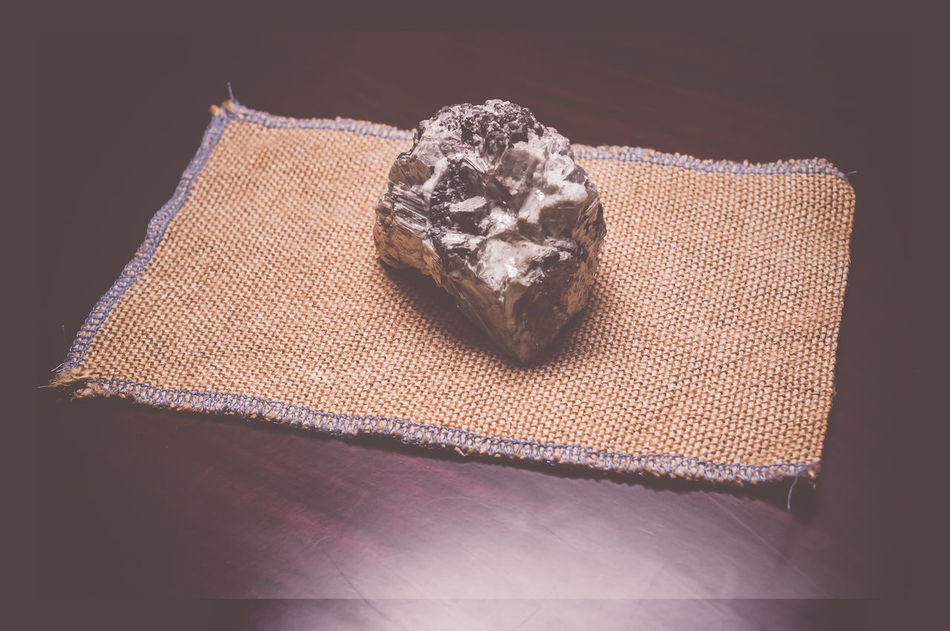 quartz and mica rock Backgrounds Burlap Close-up Design Detail Directly Above Full Frame High Angle View Ideas Indoors  Indulgence Mica Mineralogy No People Part Of Pattern Quartz Rocks Rocks And Minerals Single Object Still Life Textured  Wooden Background