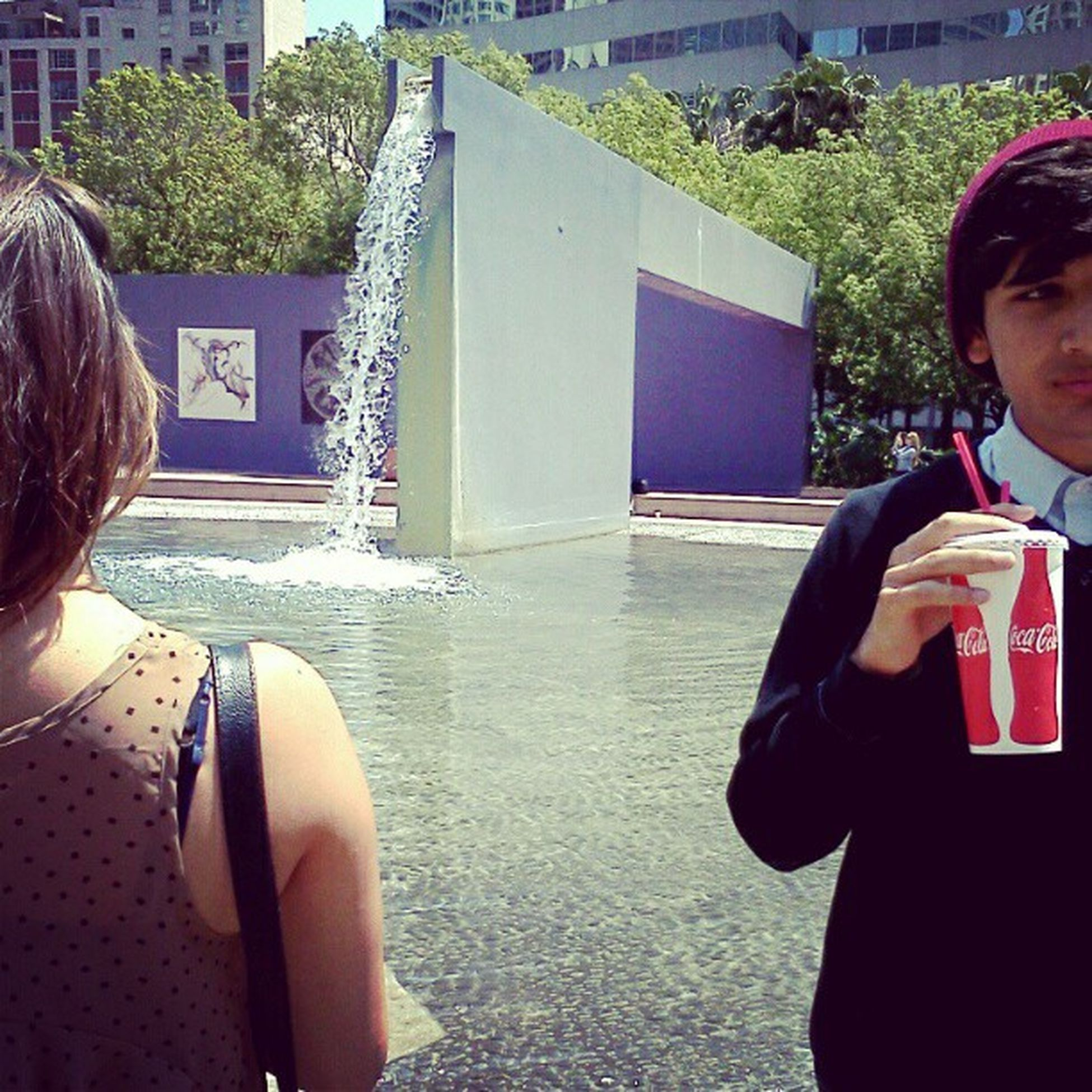this was around 1pm Pershingsquare Downtown (:
