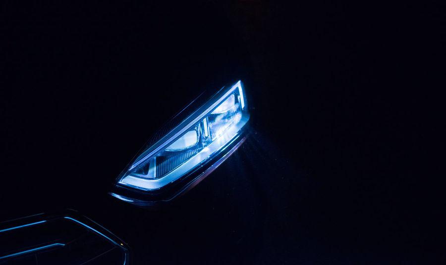 AUDI - LIGHT 0711 A Car Lights Constantinschiller Front Light Herrschiller Light Light And Shadow Neon Neon Lights Stuttgart