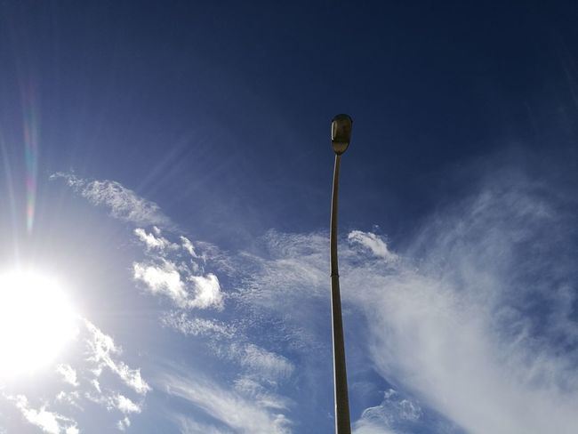 Low Angle View No People Sky Tranquility Winter Horizontal Snow Outdoors Cold Temperature Nature Day Figueirinha Setúbal Portugal No People Oo Capturedonp9 HuaweiP9 Sun Light Lamp Lamps Lamp Post Cloud - Sky Cloud Clouds And Sky Clouds & Sky