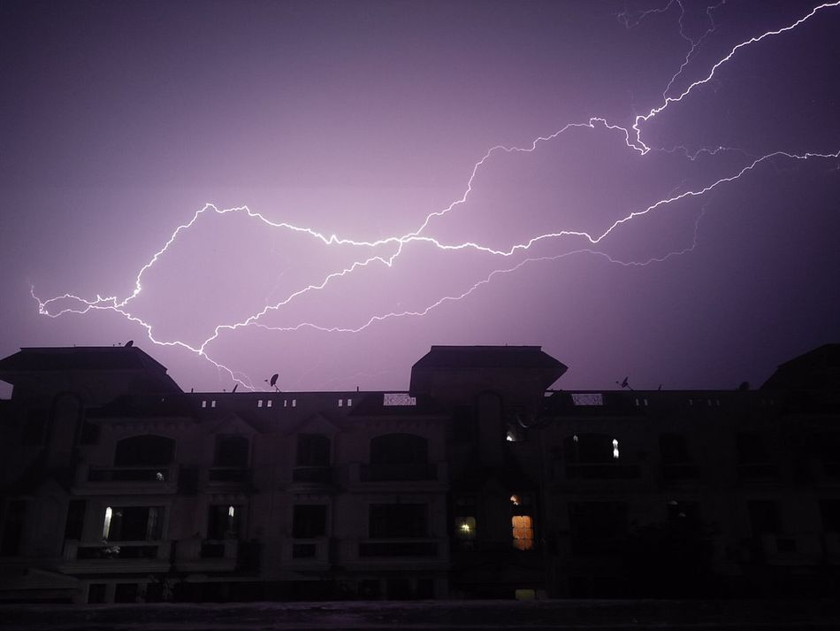 Shutterspeed Lightening Power In Nature Shutter Speed NoEditNoFilter Lightening Flash Lightening Strike Night Lightning Thunderstorm Weather Storm No People Outdoors Sky Nature Beauty In Nature Mobile Photography Mobile Phone Photography Phone Camera