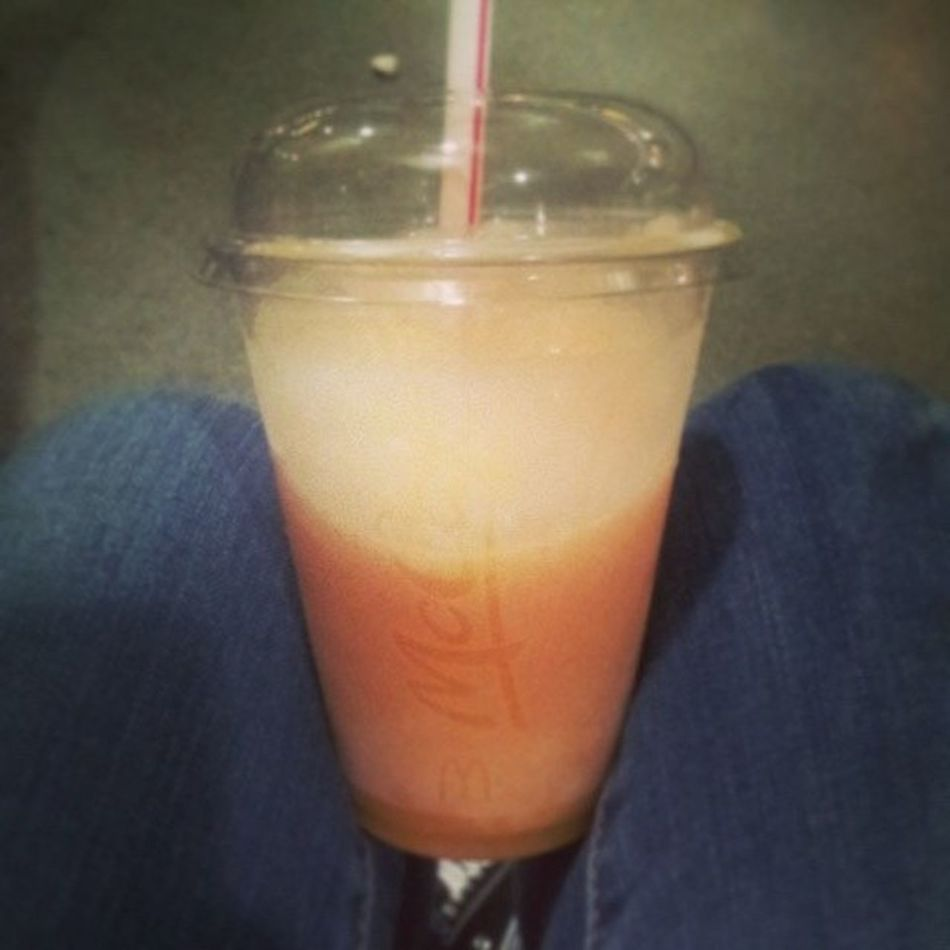 So after finishig work late, i decided to treat myself to a smoothie, absolute heaven. Maccys Yum Treat .