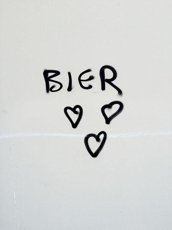Beer Beer Lovers Graffiti Graffiti Art Heart Hearts Love Stretart Text Wallpainting