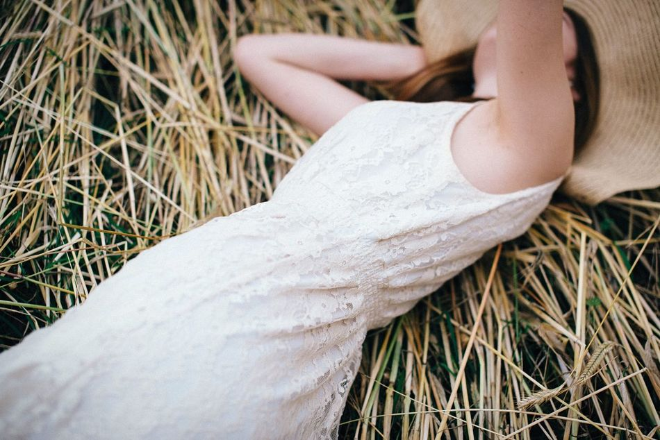 Beautiful stock photos of white, Day, Dress, Dry, Field