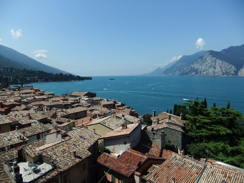 Malcesine Rooftops Lake Garda Lake View Italy Italia Beautiful Lakeside Malcesine Castle No Filter No Filter, No Edit, Just Photography Check This Out Phone Photography Tim Bailie