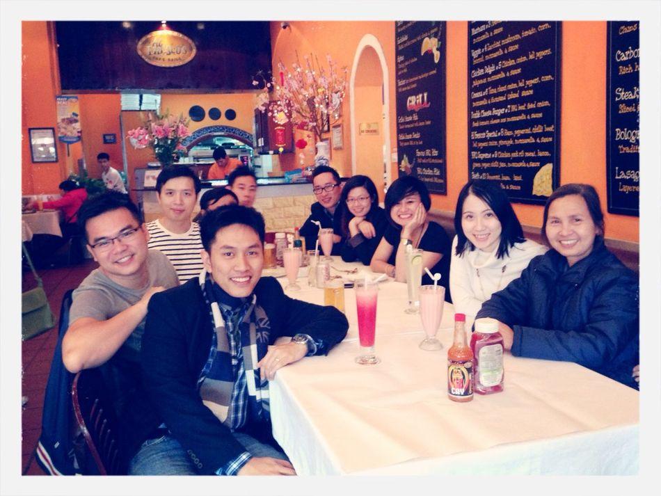 L2 first reunion of 2014 lunar year