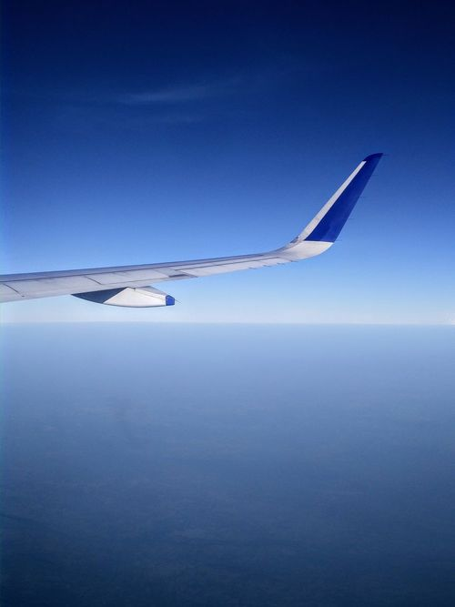 Blue Nature Sky Transportation Clear Sky Tranquility No People Beauty In Nature Flying Outdoors Airplane EyeEmNewHere Airplane View Airbus Airplane Shot Indigo Airlines GoIndigo