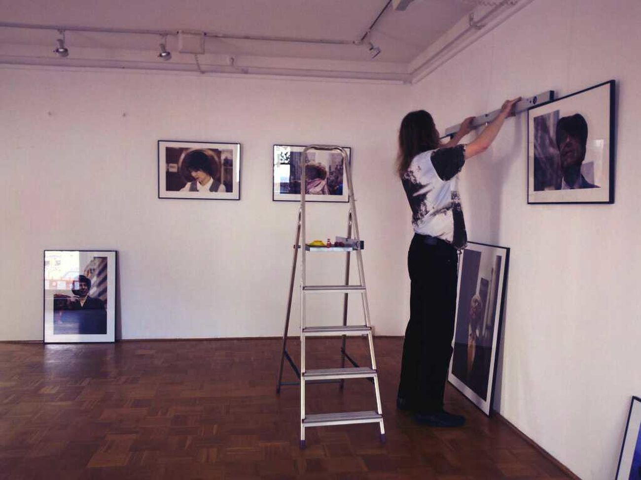 Preparing the exhibition. #Berlin #urbanballads