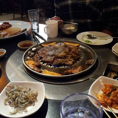 Korean bbq. Food Yum