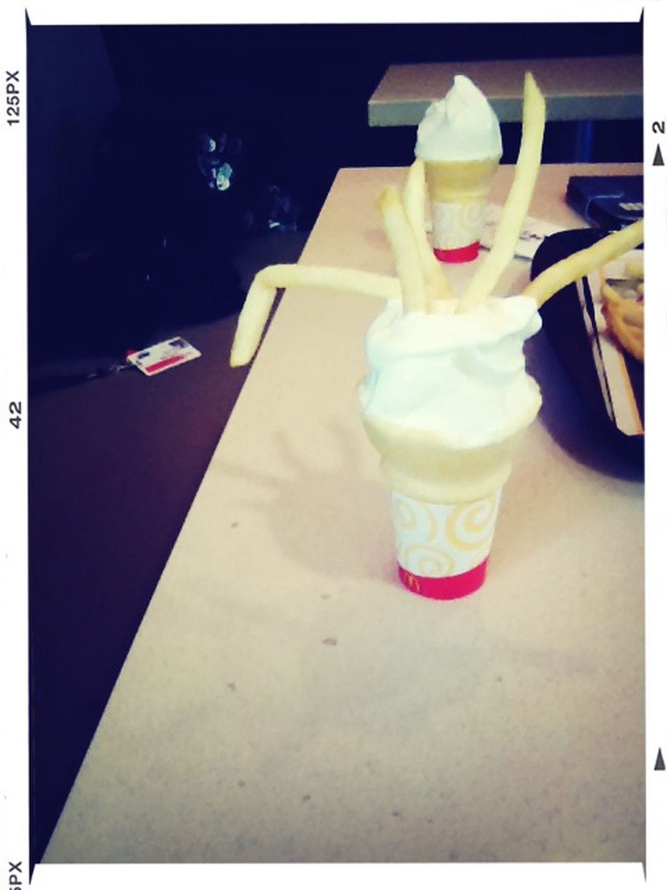 bomb shieee ???? McDonald's Ice Cream Fries