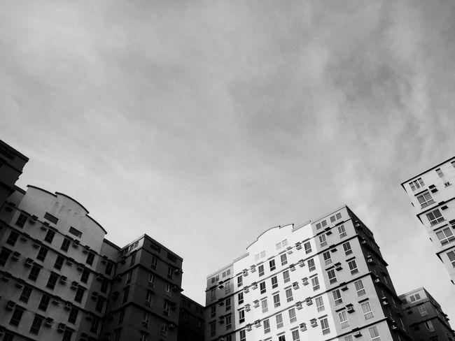 Empty sky.. Blackandwhite Blackandwhitecho Check This Out Hello World Taking Photos Wanderlust Christmastime Manila