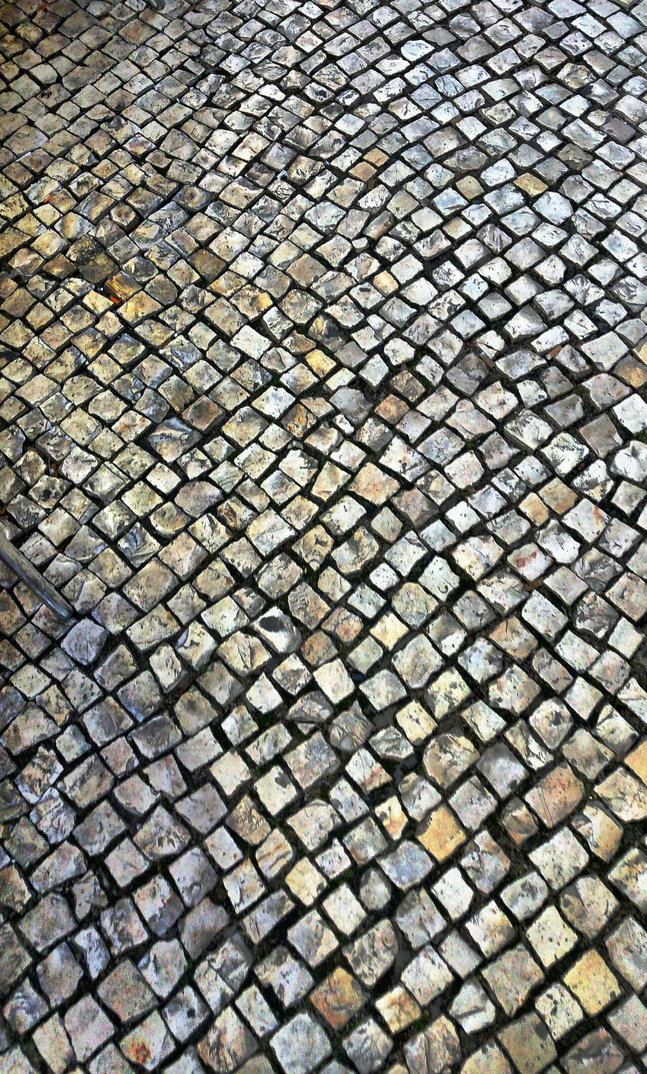 Beautifully Organized Architecture Urban Photography Urban Exploration Street Photography Urban Exploring Abstract Photography Abstract Close-up Cobbled Cobbled PavementShapes And Lines Shapes And Patterns  Streets Of Lisboa
