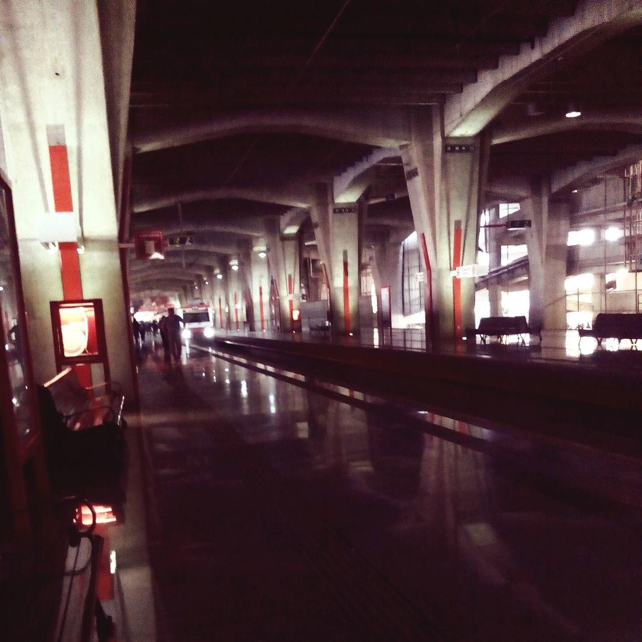 Architecture Built Structure Transportation Indoors  Suburbano Buenavista Mexico City