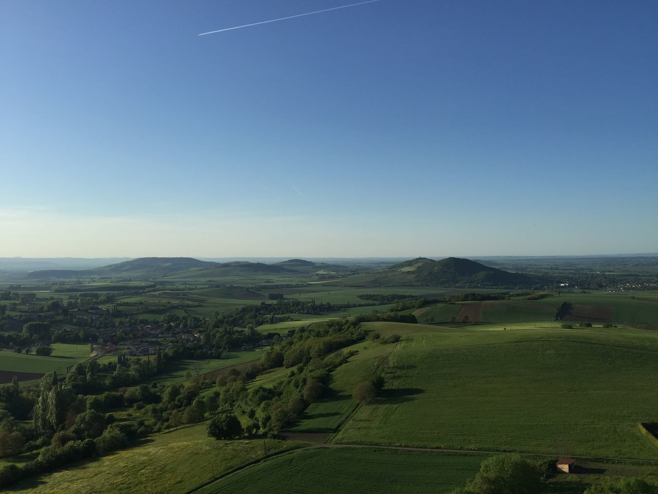 IPhoneography Enjoying The View Auvergne Myauvergne France From My Point Of View Sun Blue Sky Landscape Landscape_Collection