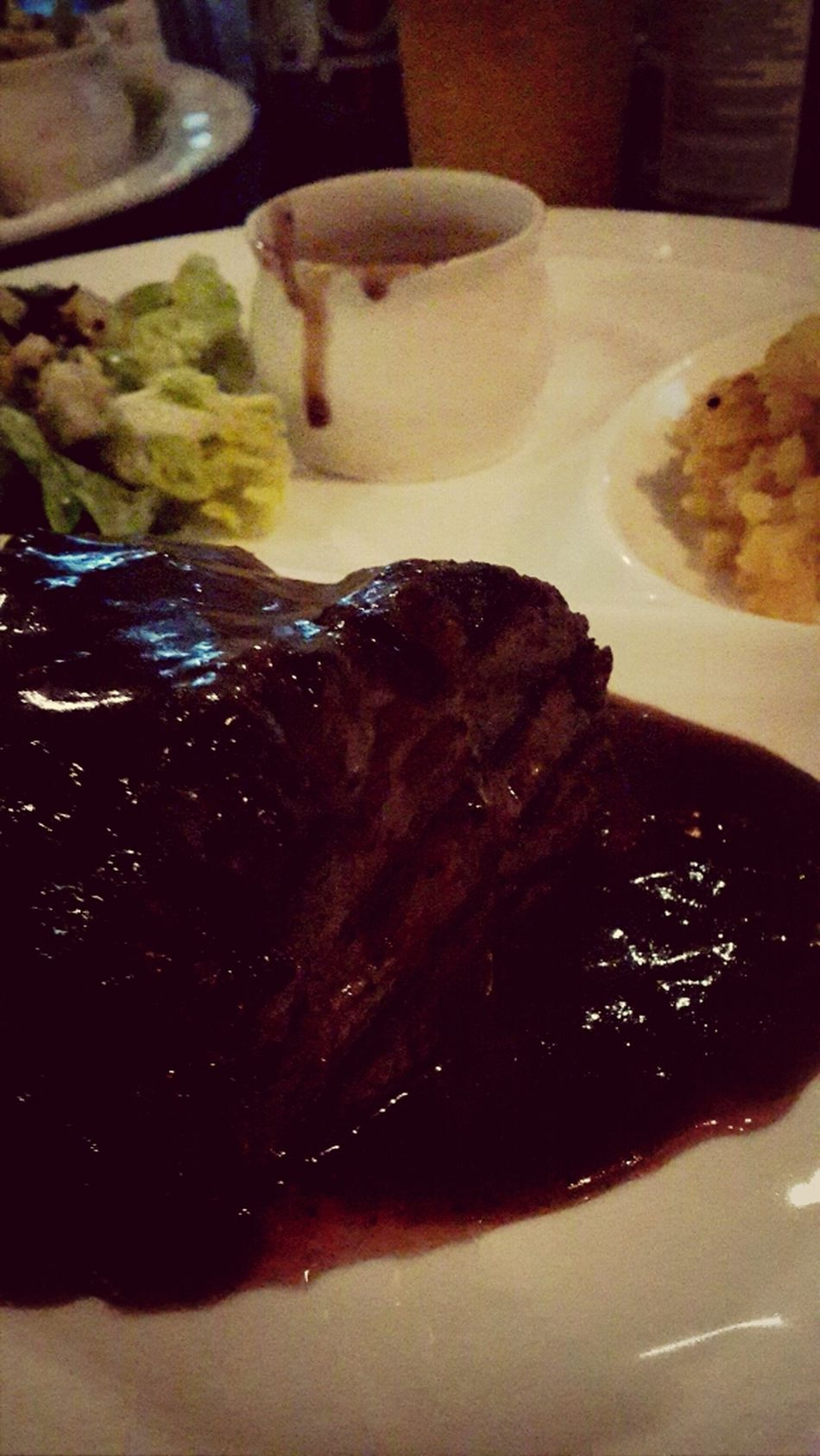 When the world bring u down ... treat yourself with a steak ... what the point of it ... absolutely nothing ? Tenderloin Steak My Dinner